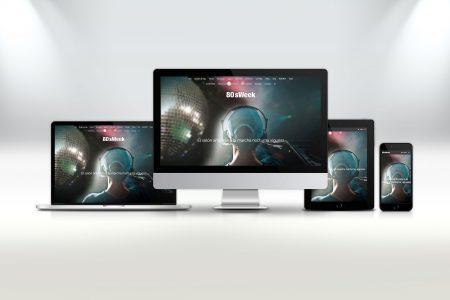 80'SWEEK logotipo y web