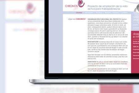 CHRONOS web