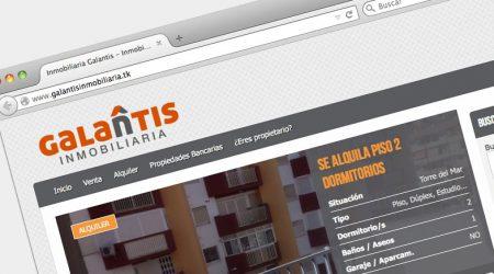 GALANTIS web y logo