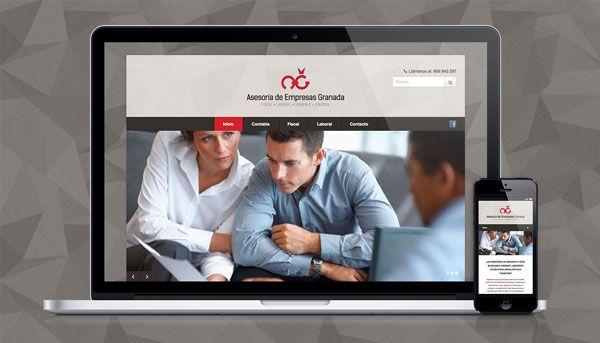 Elaboración de página web responsive