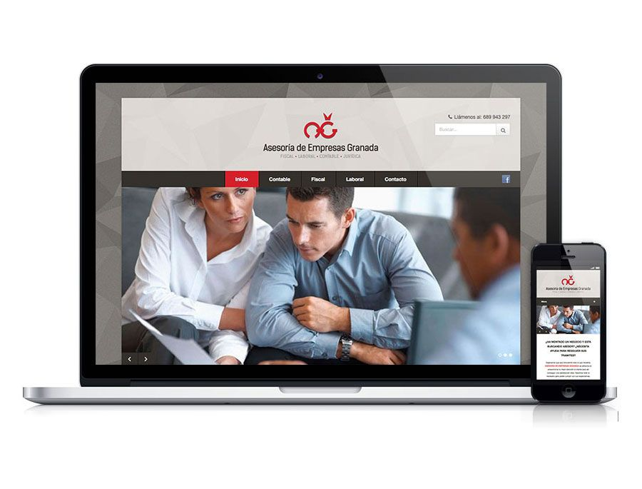 Diseño y desarrollo de web para asesoría
