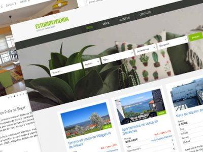Web WordPress para inmobiliaria