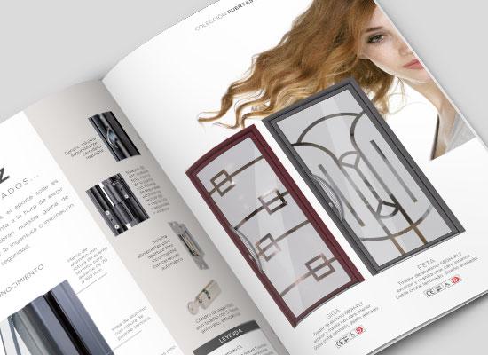 Diseño editorial - catálogo de producto